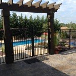 A beautiful fence for your pool